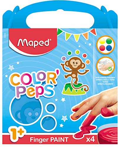 Maped 812510 - Pintura de dedos