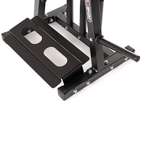 Marbo Sport - Soporte múltiple para discos de peso, mancuernas y barras, color negro Capacidad de carga: 300 kg MH-S007 2.0.