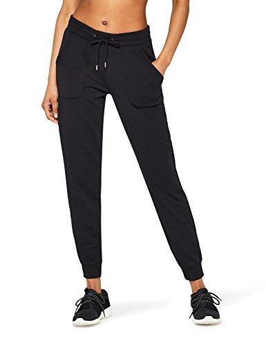 Marca Amazon - AURIQUE Jogger - Pantalones Mujer, Negro (Black), 44, Label:XL