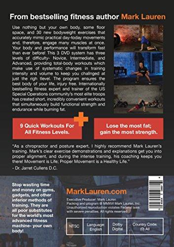 MARK lauren YOU ARE YOUR Own 健身房 | bodyweight calisthenics 锻炼健身 DVD set