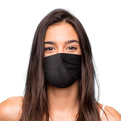 Mascarilla Higienica Premium Reutilizable UNISEX - Color Negro