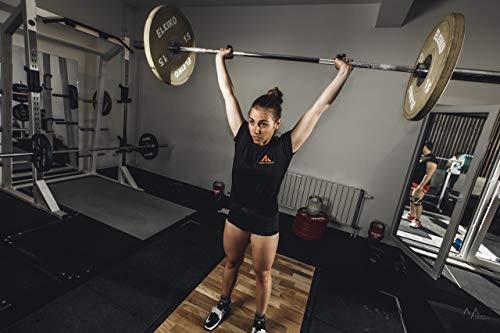 McLea Athletic - Juego de 3 cintas de agarre para levantamiento de peso, Crossfit, Power Lifting, Strongtape/Tape para protección de pulgar y dedo, pesas olímpicas, Crossfit Tape