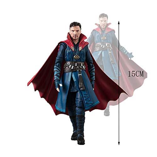 MEI XU Doble Alianza Avengers 3 Infinite War Dr. Singular PVC Modelo de Juguete para niños Muñeca Mano Modelo Alto 15cm Modelo De Juego