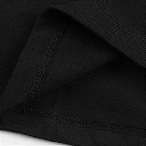Men Casual Shirt Fashion Shirt UFC Conor The Notorious Mcgregor Champion Shadow T-Shirt Black