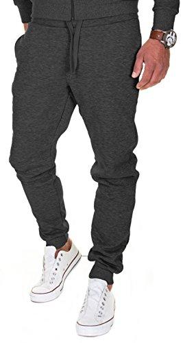 MERISH Pantalones Jogger Hombre Deportivos Joggers Modell 211 Antracita M