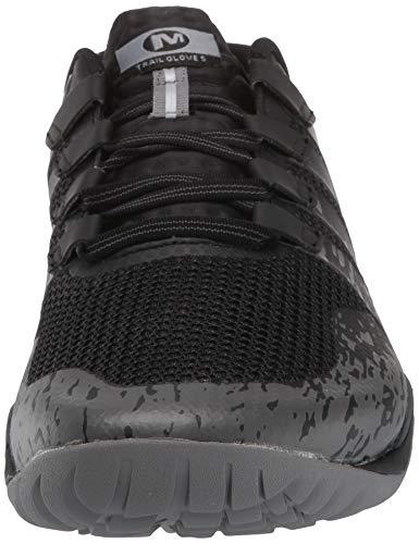 Merrell Trail Glove 5, Zapatillas Deportivas para Interior para Hombre, Negro (Black), 46 EU
