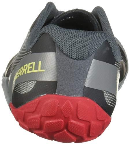 Merrell Vapor Glove 4, Zapatillas Deportivas para Interior para Hombre, Gris (Monument), 43 EU