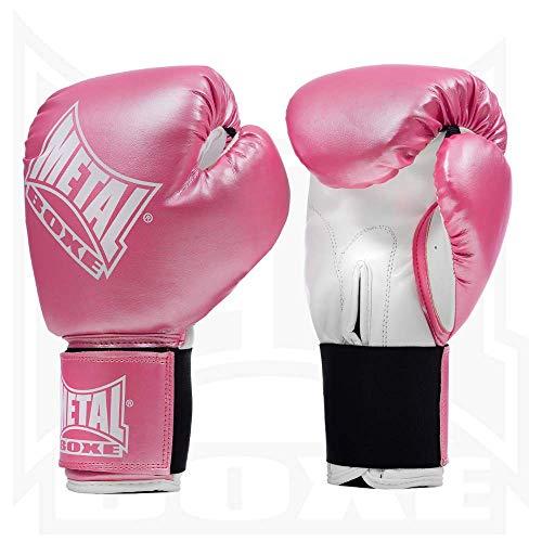 Metal Boxe MB221 - Guantes de boxeo, color rosa - rosa, tamaño 10 onzas