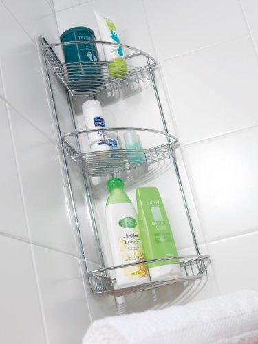 Metaltex Rinconera baño 3 Pisos, Cromado