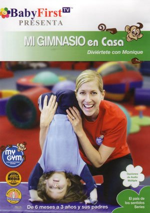 Mi Gimnasio En Casa Con Monique-Babyfirs [DVD]