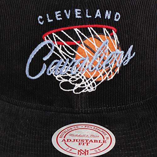Mitchell & Ness Gorras Cleveland Cavaliers All Net Black Snapback