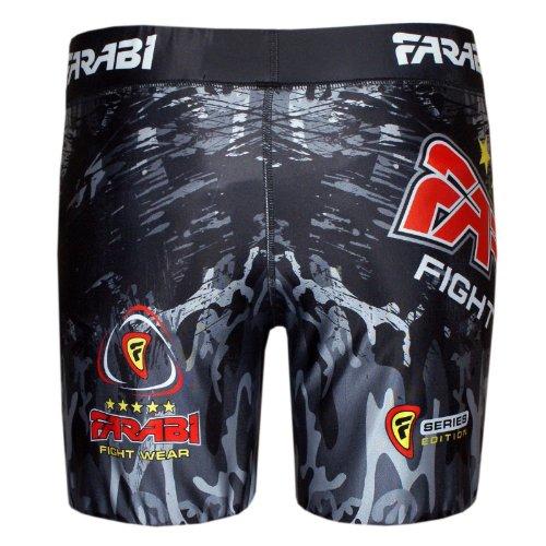 MMA vale tudo short grappling fight training match compression tight by Farabi (XL)