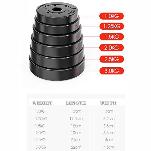 MultiWare levantamiento de peso de 30kg ajustable mancuerna Barbell Bar & Juego De Pesas
