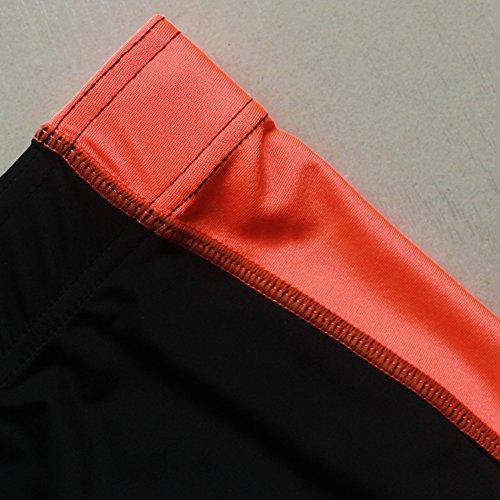Muscle Alive Hombre Gimnasia Apretado Entrepierna 16 Culturismo Pantalones Cortos de poliéster y Lycra
