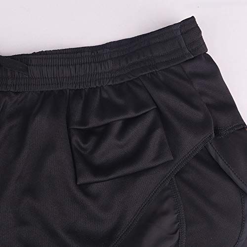 """Muscle Alive Hombres Deportes Running 1"""" Élite División Corriendo Pantalones Cortos con Lado Malla Panel Rápido Seco Shorts"""
