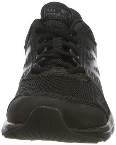 New Balance 411, Zapatillas de Running para Mujer, Negro (Triple Black), 36 EU