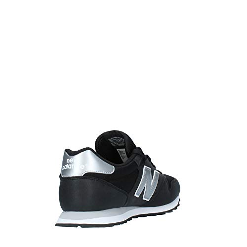 New Balance 500 Core, Zapatillas para Hombre, Negro Black Silver Black Silver, 44 EU