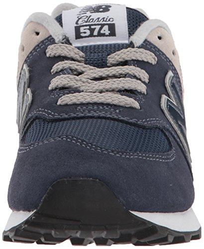 New Balance 574v2 Core Lace, Modelo PC574GV, Zapatillas para Niños, Azul (Navy/Grey GV), 30 EU