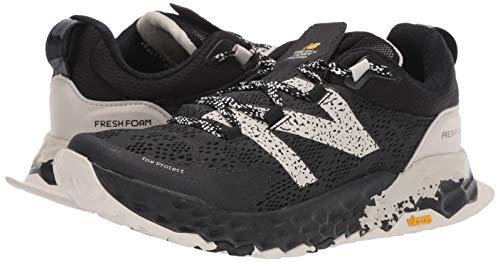 New Balance Fresh Foam Hierro V5, Zapatillas para Carreras de montaña para Hombre, Black Moonbeam, 44.5 EU