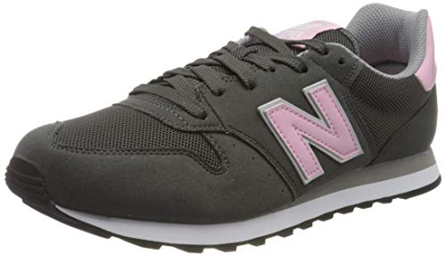 New Balance Gw500v1, Zapatillas de Deporte para Mujer, Gris (Grey/Pink Gsp), 39 EU