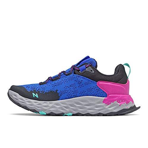 New Balance Hierro V5 Fresh Foam, Zapatillas para Carreras de montaña para Mujer, Arándano de Cobalto, 40.5 EU