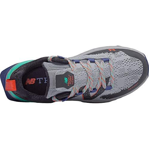 New Balance Hierro V5 Fresh Foam, Zapatillas para Carreras de montaña para Mujer, Tidepool de Aluminio Ligero, 38.5 EU