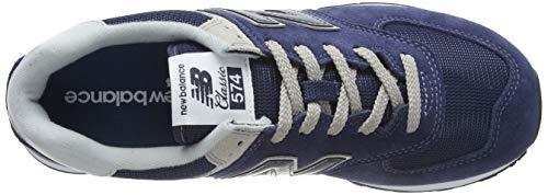 New Balance Hombre 574v2-core Trainers Zapatillas, Azul (Navy), 44 EU