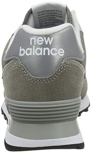 New Balance Mujer 574v2 Core, Zapatillas Gris (Grey), 36.5 EU