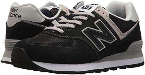 New Balance Mujer 574v2 Core, Zapatillas Negro (Black), 37 EU