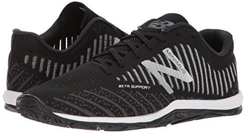 New Balance Mx20V7, Zapatillas Deportivas para Interior para Hombre, Negro (Black/White), 41.5 EU