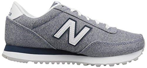 New Balance Wl501V1, Zapatillas para Mujer, Azul (Deep Porcelain Blue), 43 EU