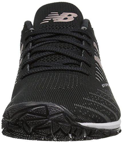 New Balance Wx20V7, Zapatillas Deportivas para Interior para Mujer, Negro (Black), 38 EU