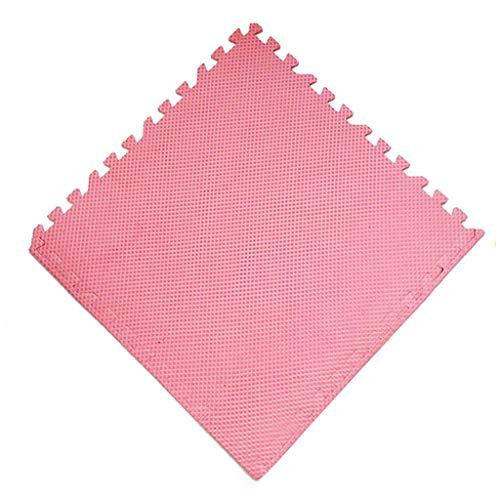 NHK-MX Colchonetas de Espuma, Plástico EVA termoaislante, Cojín de Goma Antideslizante, Manta de Picnic para Piscina para jardín (Color : Pink, Size : 12pcs)