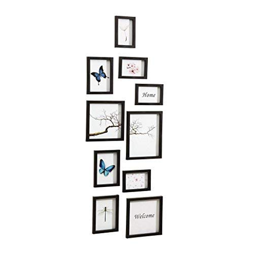 Nielsen Diseño Nielsen 10Piece Frame Set Black Plastic Mobile Rack 8999176