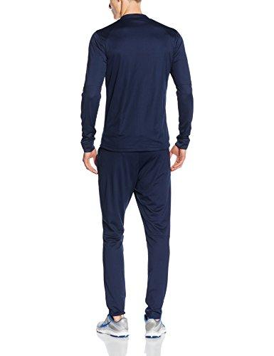Nike Academy16 Knt Tracksuit 2, Chándal Para Hombre, Negro / Azul / Blanco (Obsidian/Obsidian/Deep Royal Blue/White), L