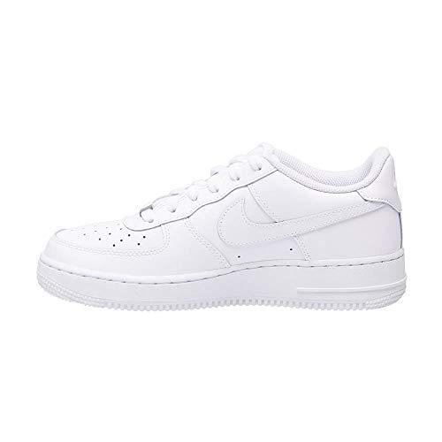 Nike Air Force 1, Zapatillas de Baloncesto Unisex Niños, Blanco (White / White-White), 40 EU