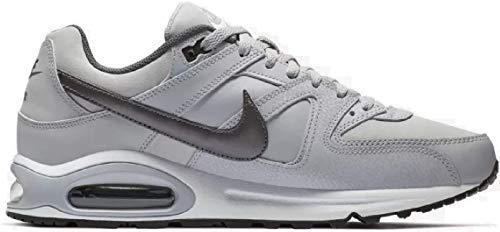 Nike Air Max Command Leather, Zapatillas de Running para Hombre, Gris (Gris (Wolf Grey/Mtlc Dark Grey-Black-White)), 44 1/2 EU