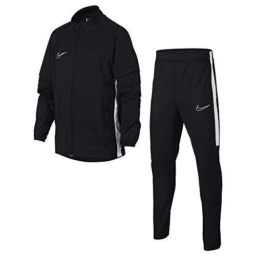 NIKE B NK Dry Acdmy TRK Suit K2 Chándal, Niños, Black/White/White, L