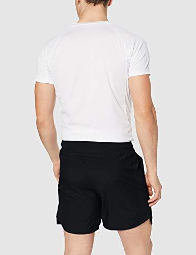 Nike Challenger 7in BF Pantalones Cortos Deportivos, Hombre, Negro (Black/Black/Reflective Silv), L