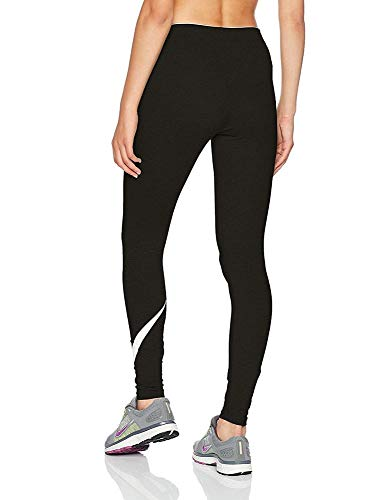 NIKE Club Logo 2 Mallas, Mujer, Multicolor (Black/White), XS