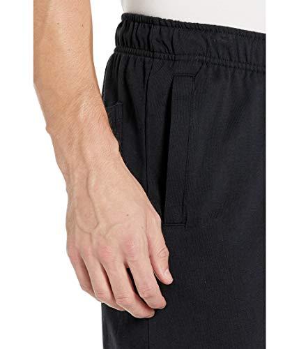 NIKE Club Short JSY Pantalones Cortos, Hombre, Negro (Black/White), M