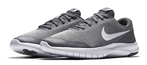 Nike Flex Experience RN 7 (GS), Zapatillas de Running Unisex Adulto, Gris (Wolf Grey/White/Cool Grey 003), 39 EU