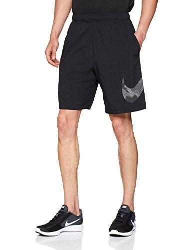 NIKE Flex Pantalones Cortos De Entrenamiento para niño, Verano, Hombre, Color Negro, tamaño Small