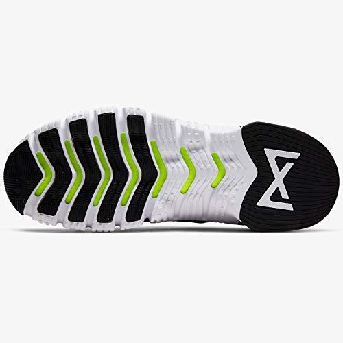 Nike Free Metcon 3 - Zapatillas de entrenamiento para mujer, Negro (negro, blanco, (Black/White-volt)), 35.5 EU