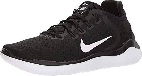 Nike Free Rn 2018, Zapatillas de Running para Mujer, Negro (Black/White 001), 38 EU