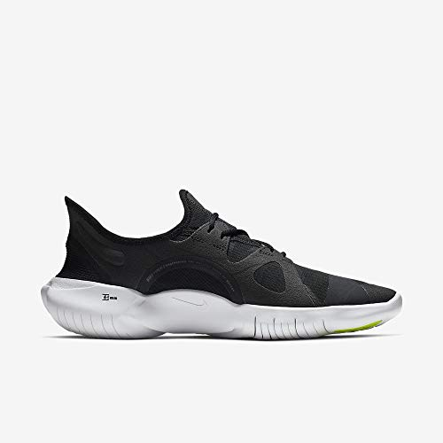 Nike Free RN 5.0, Zapatillas de Running para Hombre, Negro (Black/White/Anthracite/Volt 003), 44 EU