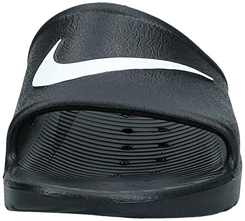 Nike Kawa Shower, Chanclas Hombre, Negro (Black/White), 45 EU