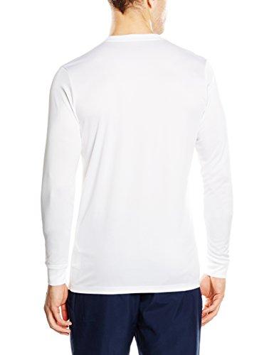 Nike LS Park Vi JSY Camiseta de Manga Larga, Hombre, Blanco (White/Black), L