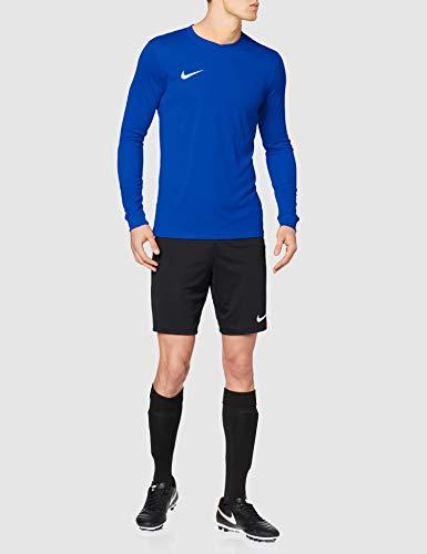 Nike LS Park Vi Jsy - Camiseta para hombre, color azul / blanco (royal blue / white), talla L