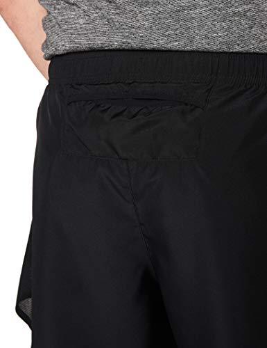 NIKE M NK Chllgr Short 5In BF Pantalones Cortos de Deporte, Hombre, Black/Black/Reflective silv